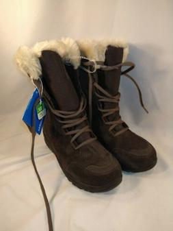 Columbia Women's Winter Boots Brown Size 6 NWT W/ Faux Fur