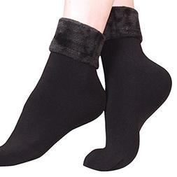 Women Soft Sock Wool Thicken Socks Cashmere Thermal Solid So
