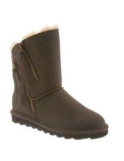 Bearpaw Womens Mimi Brown Snow Boots Size 6