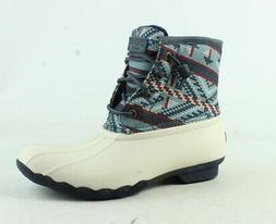 womens saltwater multi fair isle snow boots