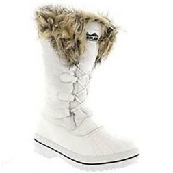Polar Products Womens Snow Boot Quilted Short Winter Snow Ra