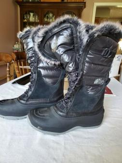 Womens Northface winter boots women size 10