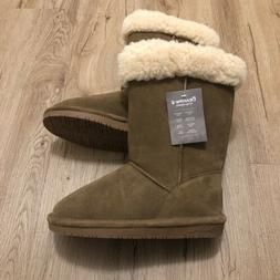 BearPaw Women's Winter Fleece Lined Boot SZ 6 NWT
