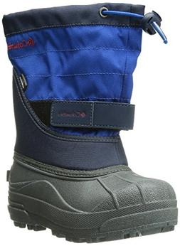 Columbia Childrens Powderbug Plus Winter Boot , Collegiate N