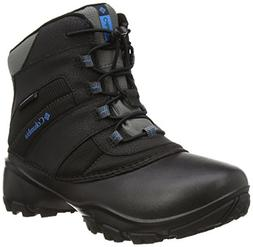 Columbia Youth Rope Tow I Waterproof Winter Boot , Black/Dar