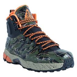 Nike Men's Zoom MW Posite Black/Total Orange/Bmb/Lgn Green B